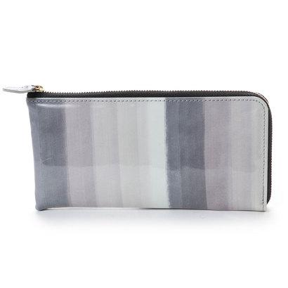 アンチフォルムデザイン Anti-Forme Design 【Afd】SOFT STRIPE L字型財布 (ブラック)