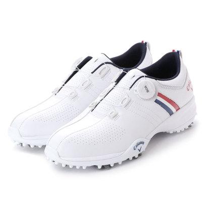 キャロウェイ Callaway メンズ ゴルフ ダイヤル式スパイクシューズ 18Mシューズ AEROSPORT BOA 18 8983502 36