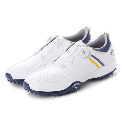 キャロウェイ Callaway メンズ ゴルフ ダイヤル式スパイクシューズ 18Mシューズ AEROSPORT BOA 18 8983502 35