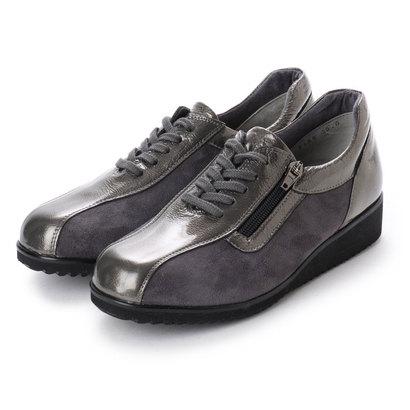フルヤ FURUYA FURUYAコンフォートシューズ(5E)靴ひもデザイン (Dシルバー)