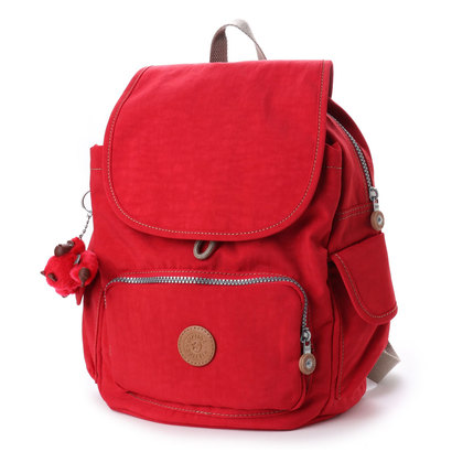 キプリング Kipling CITY PACK S (true red c)