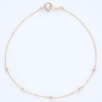ソーイ sowi 【K18・ダイヤモンド】スターダストコレクション ブレスレット (ゴールド)