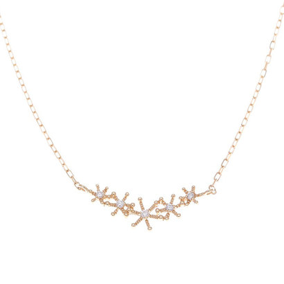ソーイ sowi 【K18・ダイヤモンド】スノーダストコレクション ネックレス (ゴールド)