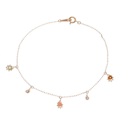 ソーイ sowi 【K10】トロピカリズモコレクション スイングブレスレット サンゴ (ピンク)
