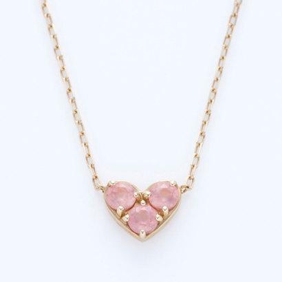 ソーイ sowi 【K10】ライフ イズ インローズ ネックレス (ピンク)