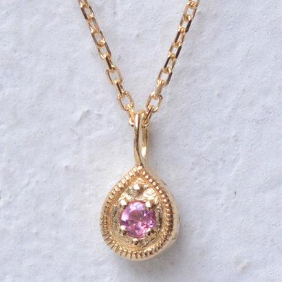 ソーイ sowi 【K18・誕生石】12の宝石のしずくたち 10月 (ピンクトルマリン)