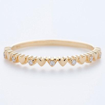 ソーイ sowi 【K18・ダイヤモンド】ハートダストコレクション リング (ゴールド)