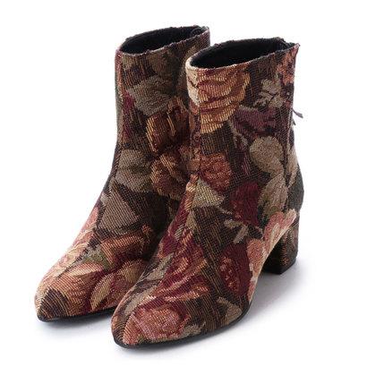 エヌティ NT(NUMBER TWENTY-ONE) ブーツ (BROWN)
