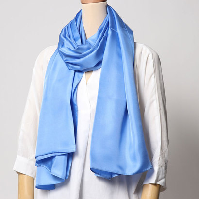 エコー ニューヨーク echo NEW YORK EN0256The Everyday Silk Wrap (Coastal Blue)
