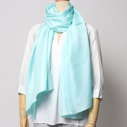 エコー ニューヨーク echo NEW YORK EN0256The Everyday Silk Wrap (Azure)