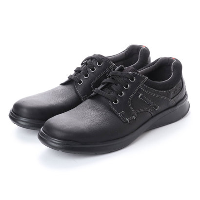 ASBee クラークス Clarks Cotrell Plain Black Oily Lea (ブラック)