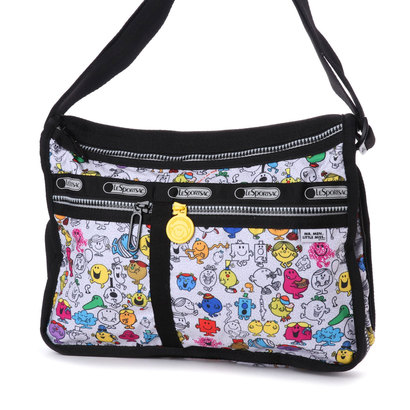 【アウトレット】レスポートサック LeSportsac DELUXE EVERYDAY BAG (MR. MEN AND LITTLE MISS)