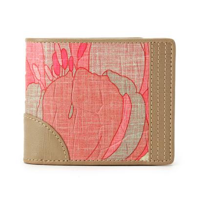ヒロコ ハヤシ HIROKO HAYASHI ZEFFIRO(ゼッフィロ) 二つ折り財布 (ピンク)