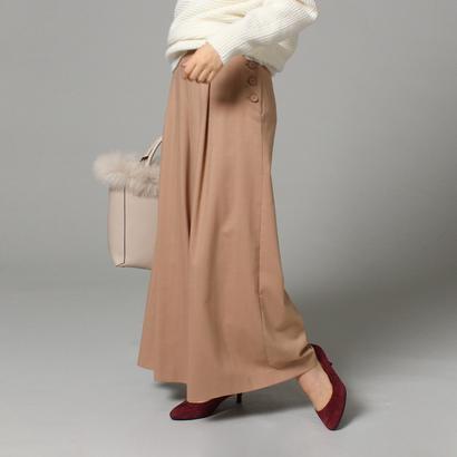 【アウトレット】アンタイトル UNTITLED ウィンターマリンワイドパンツ (ピンク)