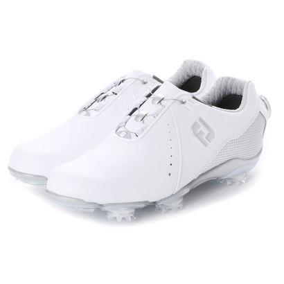 フットジョイ FootJoy レディース ゴルフ ダイヤル式スパイクシューズ 18 WO DJ ボア WT/SV 9248856277 57