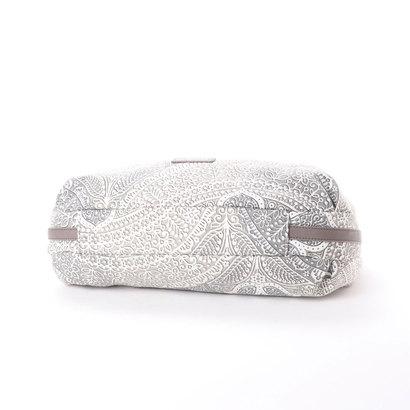 eb6b02f45196 【アウトレット】ラ バガジェリー LA BAGAGERIE かぎ針編み柄トートバッグM (GRAY)