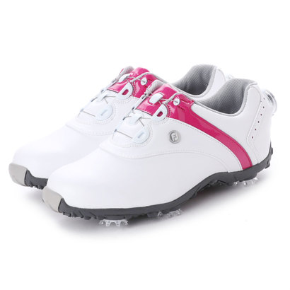 フットジョイ FootJoy レディース ゴルフ ダイヤル式スパイクシューズ 18 ロープロSP ボア WT/BE 9248861646 58