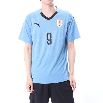 プーマ PUMA サッカー/フットサル ライセンスシャツ ウルグアイ ホーム レプリカ SSシャツ 8339537068 (ブルー)