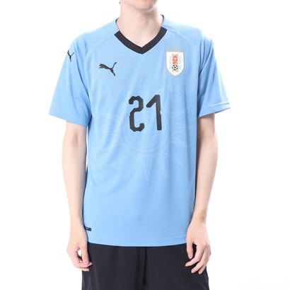 プーマ PUMA メンズ サッカー/フットサル ライセンスシャツ ウルグアイ ホーム レプリカ SSシャツ(21番 カバーニ) 8339537078
