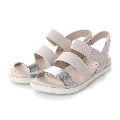 エコー ECCO Damara Modern Sandal (ALUSILVER/GRAVEL)