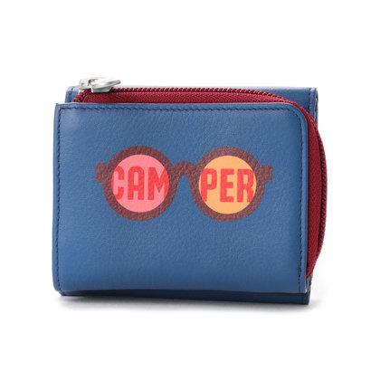 【アウトレット】カンペール CAMPER BEAMY 財布 (ブルー)