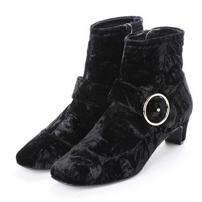 【アウトレット】ストロベリーフィールズ STRAWBERRY FIELDS ブーツ (ブラックベルベット)