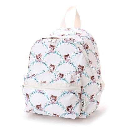 レスポートサック LeSportsac Wanderer Backpack (タイムレスキャットアイボリー)
