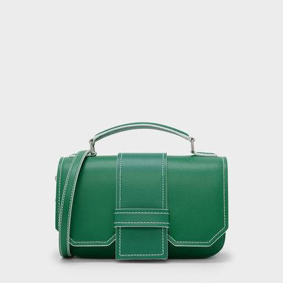トップハンドルサチャルバッグ / TOP HANDLE SATCHEL BAG (Green)