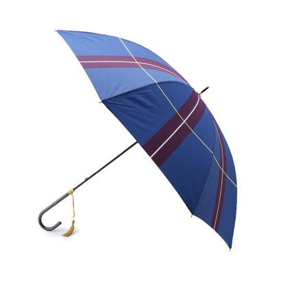 アンタイトル UNTITLED Saison Troune グラフィックアンブレラ(長傘) (ブルー)