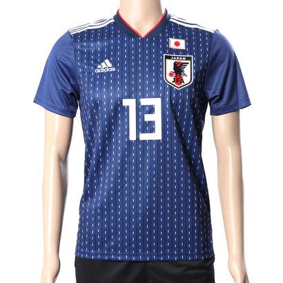 アディダス adidas メンズ サッカー/フットサル ライセンスシャツ サッカー日本代表ホームレプリカユニフォーム(13番 武藤 嘉紀) 8339152258