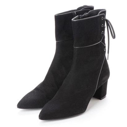 【アウトレット】アンタイトル シューズ UNTITLED shoes ショートブーツ (ブラックスエード)