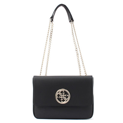 ゲス GUESS RYANN LUX CONVERTIBLE CROSSBODY FLAP (BLACK)