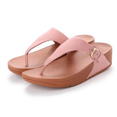 フィットフロップ fitflop SKINNY TOE-THONG SANDALS - LEATHER (Dusky Pink)