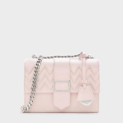 ドレッシースリングバッグ / DRESSY SLING BAG (Pink)
