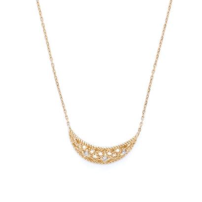ソーイ sowi 【K10・ダイヤモンド】ハンモック ネックレス (ゴールド)