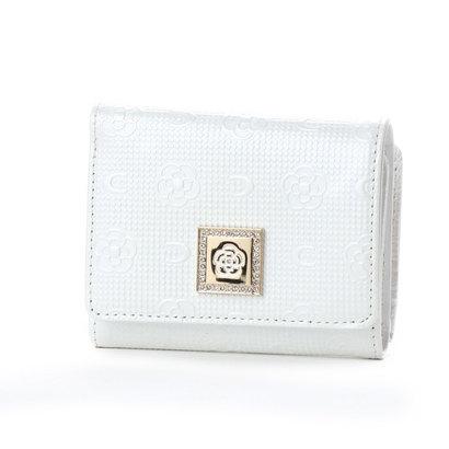 クレイサス CLATHAS ブリュージュ 3つ折り財布 (オフホワイト)
