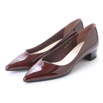 【アウトレット】アンタイトル シューズ UNTITLED shoes パンプスUT4304 (ワインエナメル)