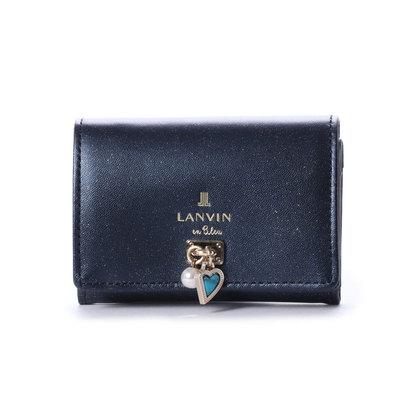 ランバン オン ブルー LANVIN en Bleu コリエ 3つ折り財布 (ネイビー)