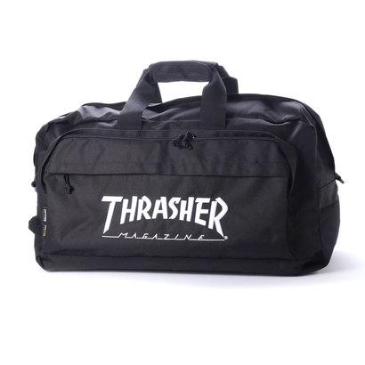 スラッシャー THRASHER THRASHER/スラッシャー ボストンバッグ (ブラック)