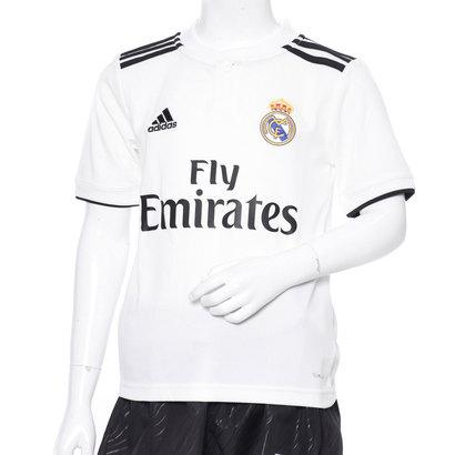 【アウトレット】アディダス adidas サッカー/フットサル ライセンスシャツ KIDSREALホームレプリカユニフォーム CG0554