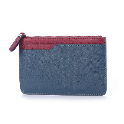 エコー ECCO Iola Small Travel Wallet (NEW PETROL/CHERRY RED)