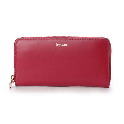 レペット repetto PORTEFEUILLE ZIPPER (レッド)