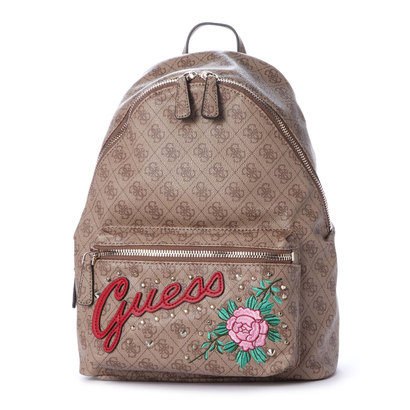 ゲス GUESS URBAN SPORT LEEZA BACKPACK (BROWN)