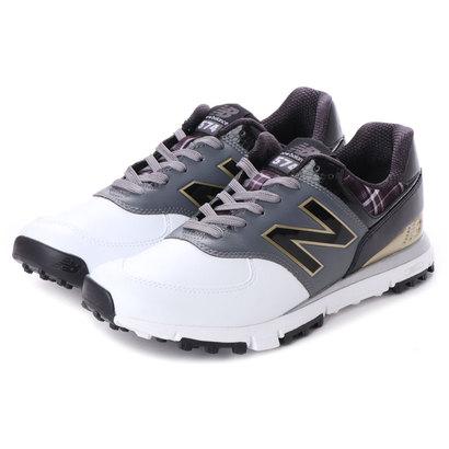 ニューバランス new balance メンズ ゴルフ シューレース式スパイクレスシューズ MGS574 MGS574 182