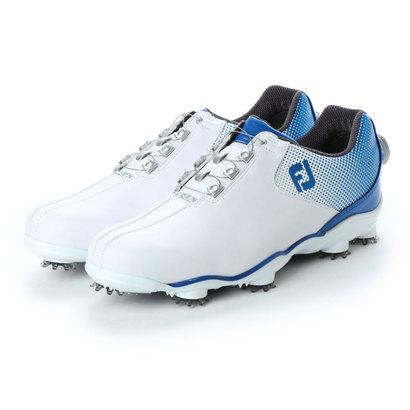 フットジョイ FootJoy メンズ ゴルフ ダイヤル式スパイクシューズ 17 DNA ボア WT/BL 9248856963 1