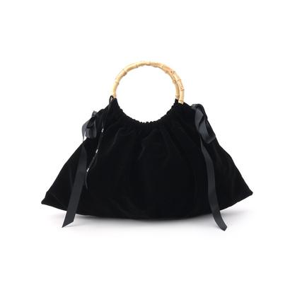 アクアガール aquagirl Bilitis dix-sept ans バンブーベロアバッグ (ブラック)