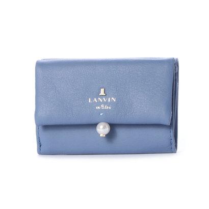 ランバン オン ブルー LANVIN en Bleu シャペル 3つ折りミニ財布 (ブルー)