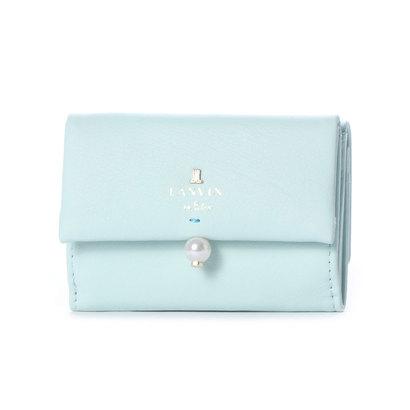 ランバン オン ブルー LANVIN en Bleu シャペル 3つ折りミニ財布 (ミント)