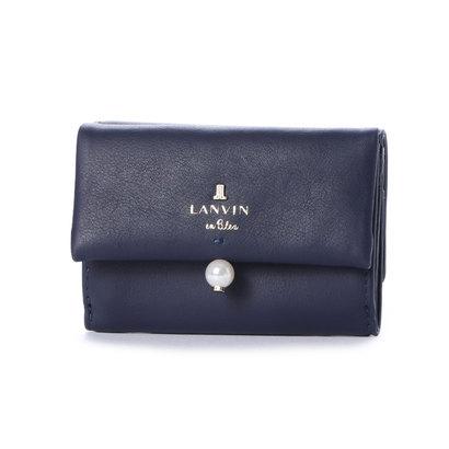 ランバン オン ブルー LANVIN en Bleu シャペル 3つ折りミニ財布 (ディープブルー)