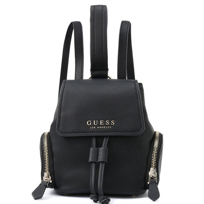 ゲス GUESS SALLY SMALL BACKPACK (BLACK)